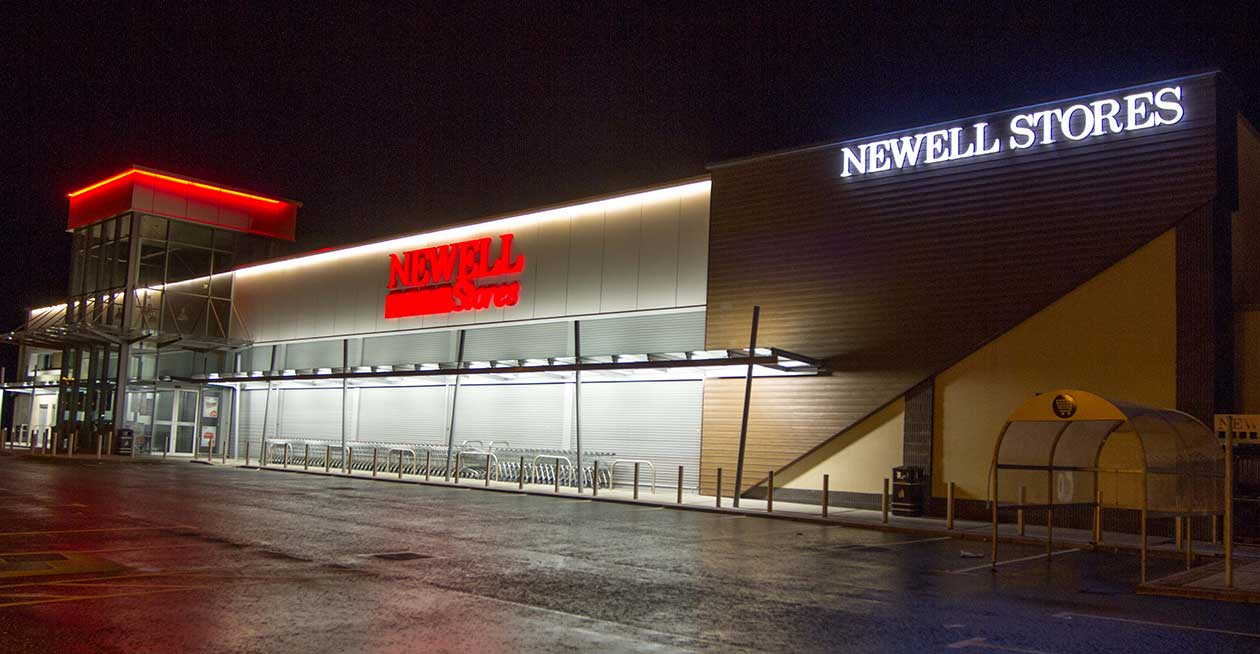 Newell Stores, Coalisland Project Images