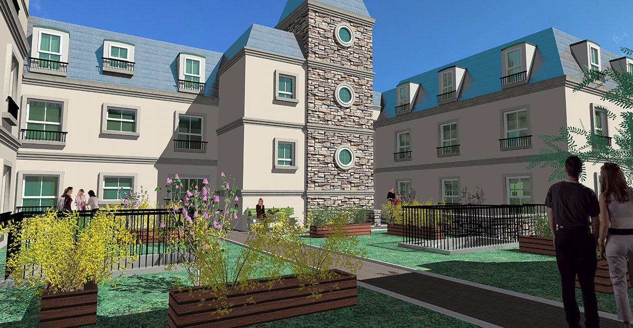 Thomas Street, Portadown Project Images