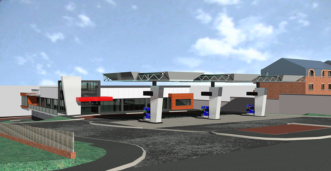 Petrol Filling Station and Retail Development at Antrim Road, Belfast Project Images