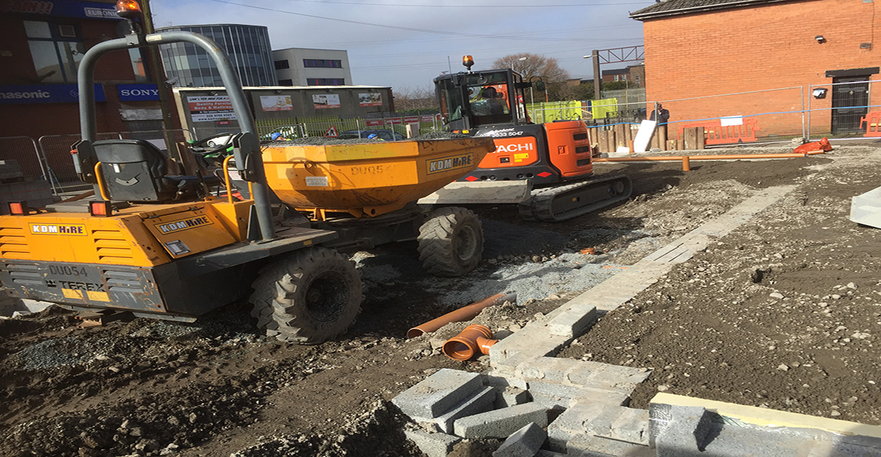 Retail Development at Holywood Road, Belfast Project Images
