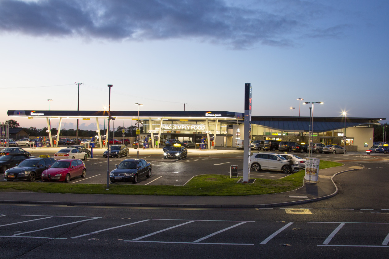 Petrol Filling Station and Retail development at Aldergrove Airport Project Images