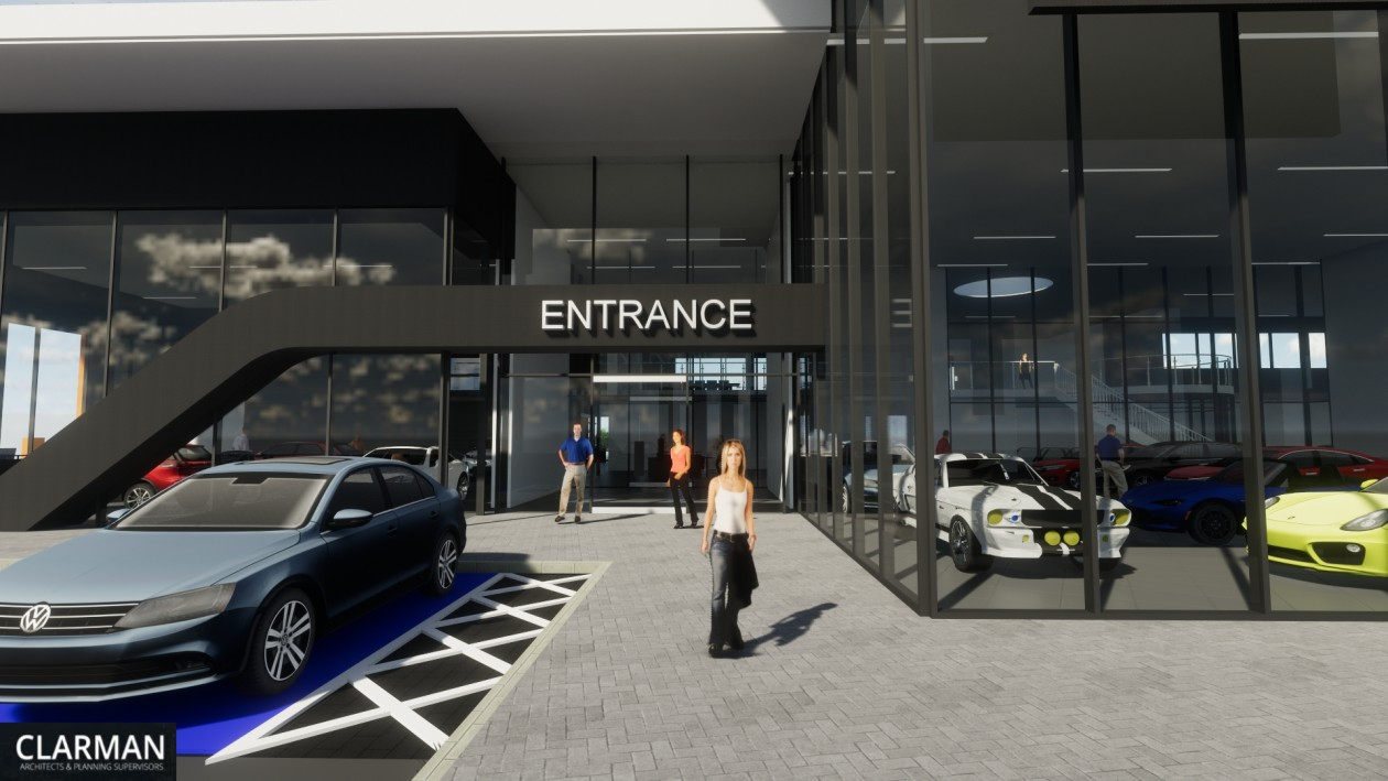 Shelbourne Motors Showroom in Newry Project Images