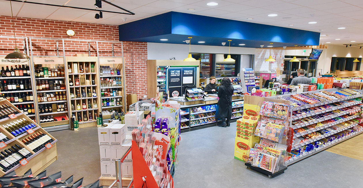 Petrol Filling Station and Supermarket at Dublin Road, Enniskillen Project Images